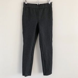 J. Crew Pixie Any Day Stretch Ponte Pants Charcoal
